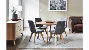 Oslo 5 Piece Round Dining Suite