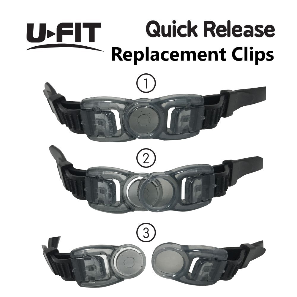 Black Replacement Clips