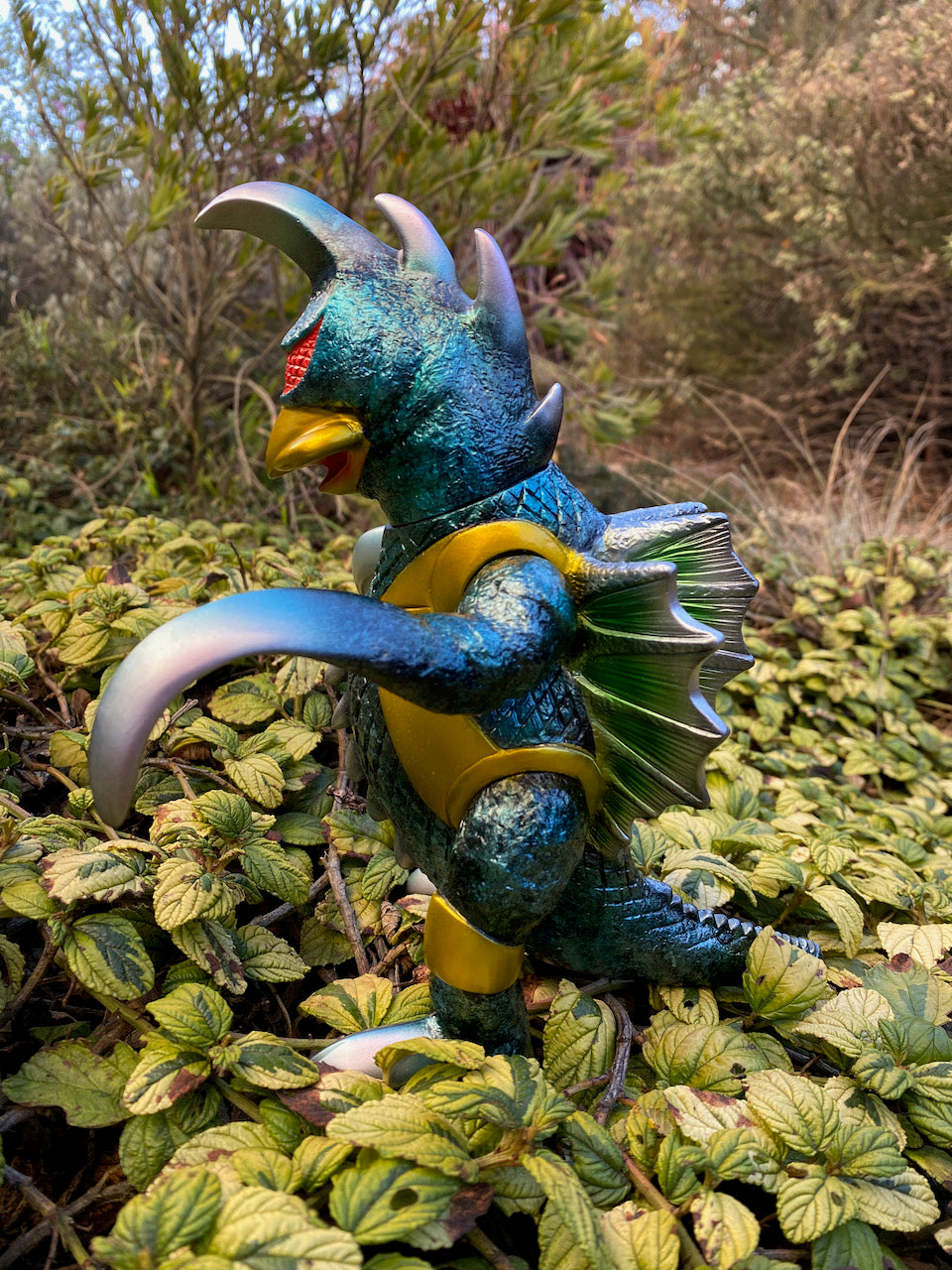 Kaiju Sommelier Customs Bandai reproduction Bullmark Gaigan!