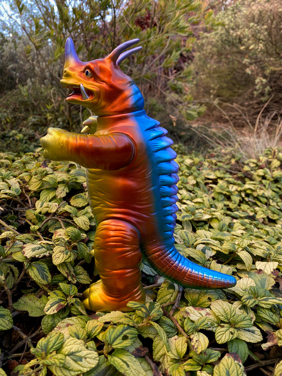 Kaiju Sommelier Custom kaiju Neronga! Bandai reproduction Bullmark figure