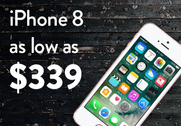 iPhone 8 as low as $339