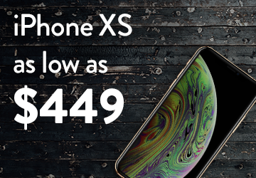 iPhone XS as low as $449