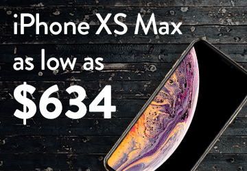 iPhone XS Max as low as $634