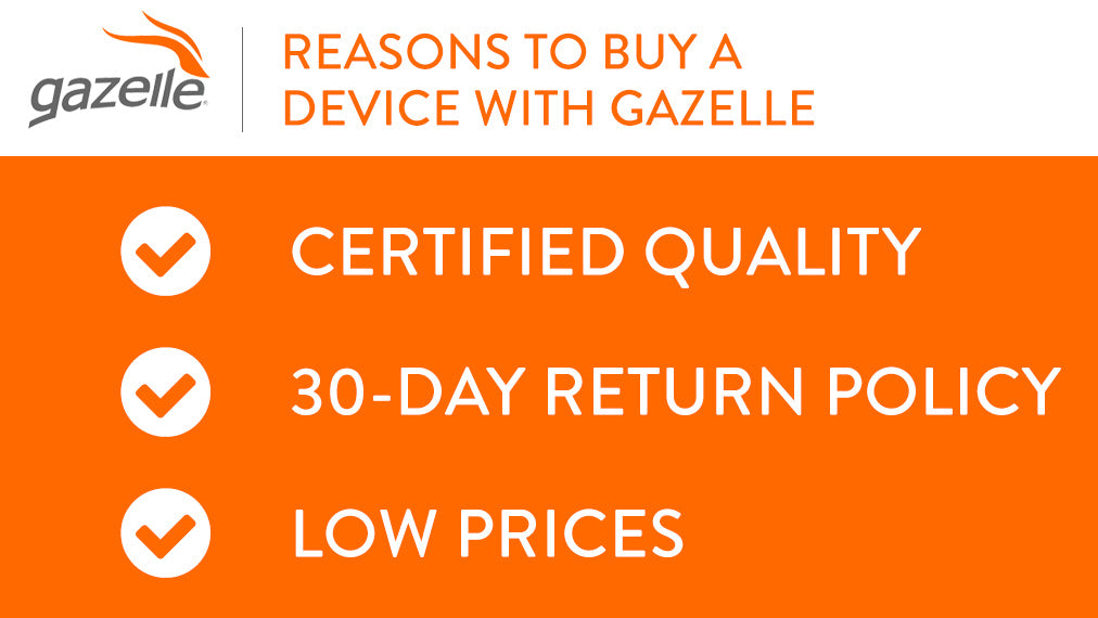 Reasons to buy a device with Gazelle.