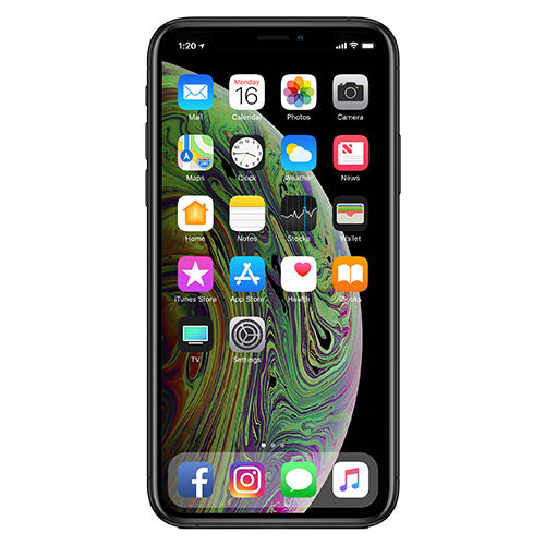 buy popular 7c424 626be iPhone XS Max 64GB (Sprint) - Silver / Excellent