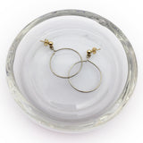 Front Facing Hoop Earring