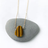 Tiger's Eye Small Pendant Necklace
