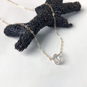 Herkimer Diamond Small Pendant Necklace