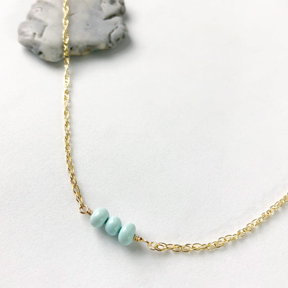 Turquoise Three Necklace