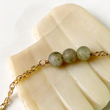 Labradorite Three Necklace