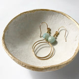 #003 - Amazonite Earring -  Wholesale