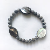 #116 - Picasso Jasper + Mother of Pearl Bracelet - Wholesale