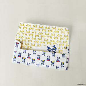 GIFT - Money Envelopes : Supermeow / Blue - Mapayah
