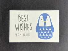 TAG - Personalised Gift Tags : Cool Penguin
