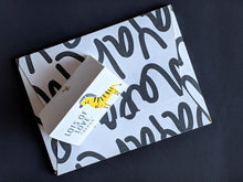 TENT - Personalised Gift Cards : Zany Zebra