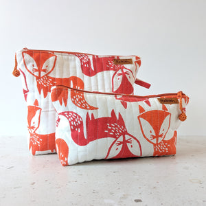 TRAVEL - Toilet Bag : Fancy Fox
