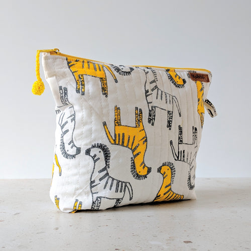 TRAVEL - Toilet Bag : Zany Zebra