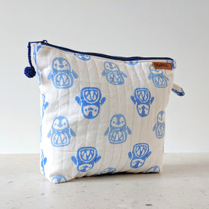 TRAVEL - Toilet Bag : Penguin Blue