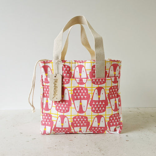 MUNCH - Lunch Bag : Cool Penguin_Pink