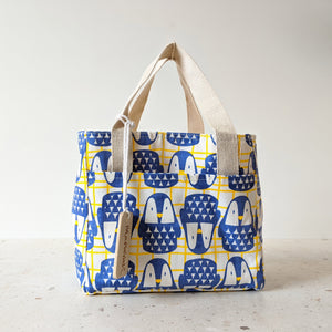 PACK - Carry Bag : Cool Penguin_Blue