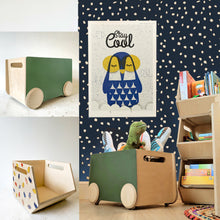 ROLL - Rolling Storage Bin : Chalk Board Furniture - Mapayah