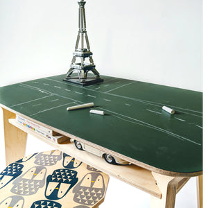 DRAW - Wooden Desk : Chalk Board Furniture - Mapayah