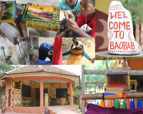 Ghanaian beadmaking, traditional beadmaking, recycled glass beadmaking