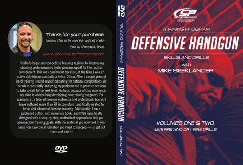 DVD - Defensive Handgun Training Program Skills and Drills Volume 1 and 2