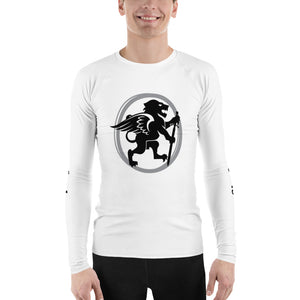 White AWS Rash Guard