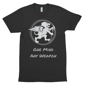 """One Mind - Any Weapon"" Short sleeve t-shirt"