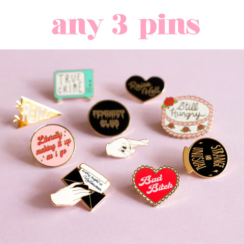 Any 3 Enamel Pins