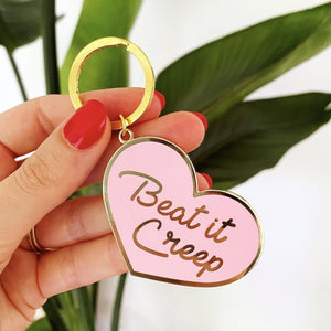 Beat It Creep Keychain
