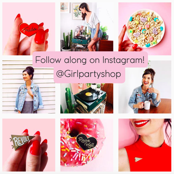 Girl Party Shop Instagram