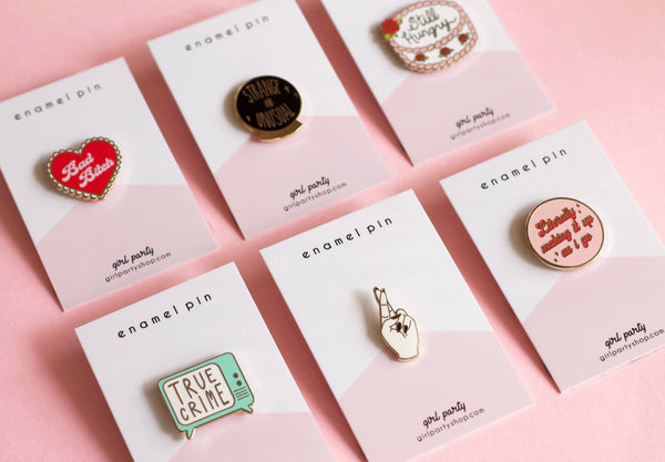 Enamel Pin Packaging