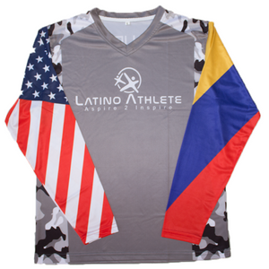 Colombian American Long Sleeve Camo