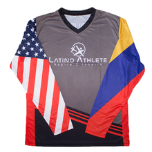 Colombian American Long Sleeve Stripes