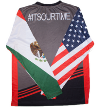 Mexican American Long Sleeve Stripes