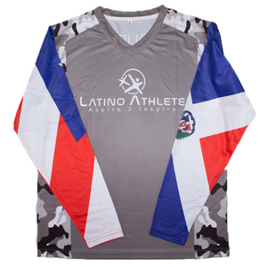 Puerto Rican Dominican Long Sleeve Camo