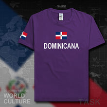 Dominican Republic Dominicana DOM men t shirt fashion 2017 jersey nation team cotton t-shirt gyms clothing tees country Dominica