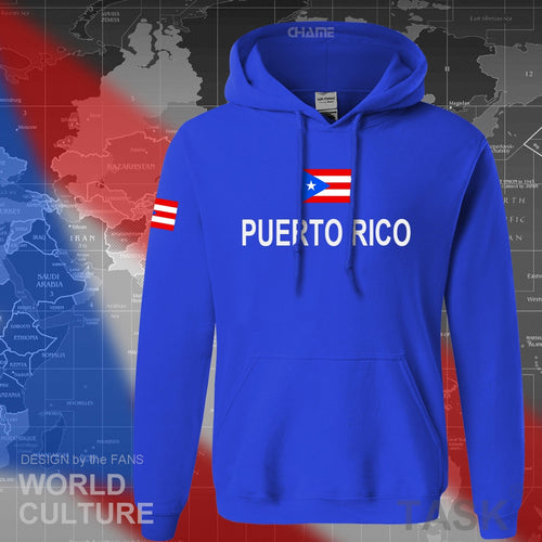 Puerto Rico hoodies men sweatshirt polo sweat new hip hop streetwear flag nation team country tracksuit nation Rican PRI PR