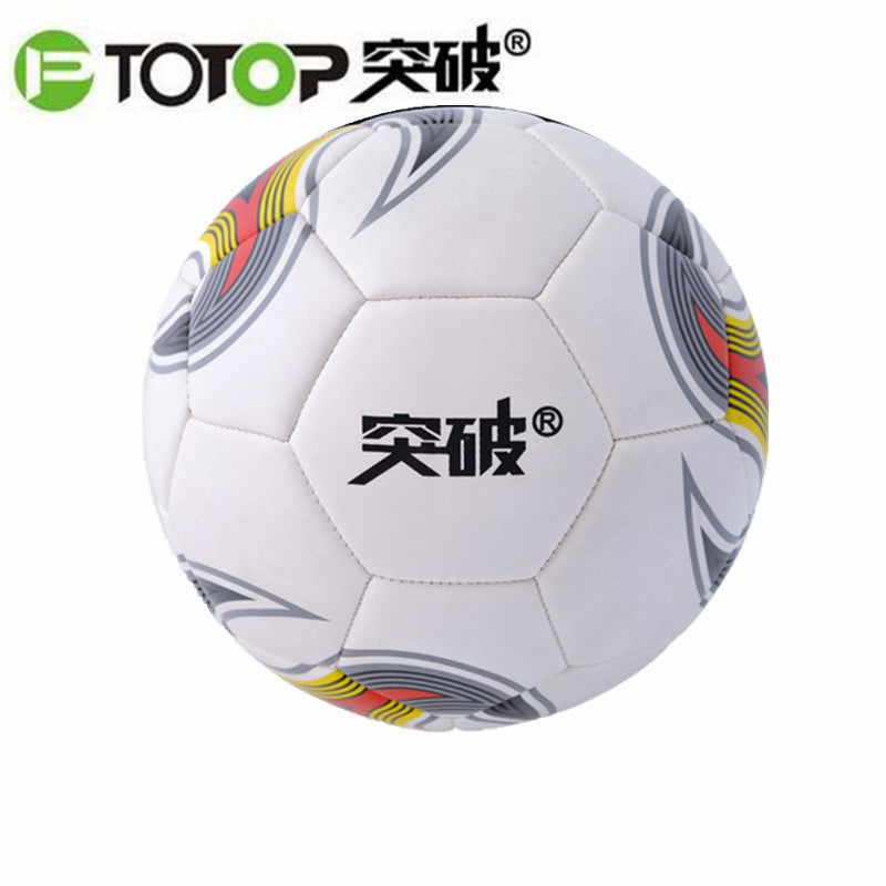 PTOTOP TPFB255 Size 4 Kids Students PVC Anti-Slip Seemless Match Training Practice Competition Football Soccer Ball hot sale
