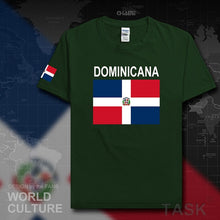 Dominican Republic Dominicana DOM men t shirt 2017 jerseys nation team tshirt cotton t-shirt gyms clothing tees country Dominica