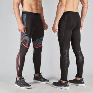 Men Pants 2017 New Compression Pants Brand Clothing Base Layer Tights Exercise Fitness Long Leggings Trousers Leisure Pants Man