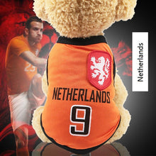 2018 FIFA World Cup, National Soccer Team Jersey Pet Apparel