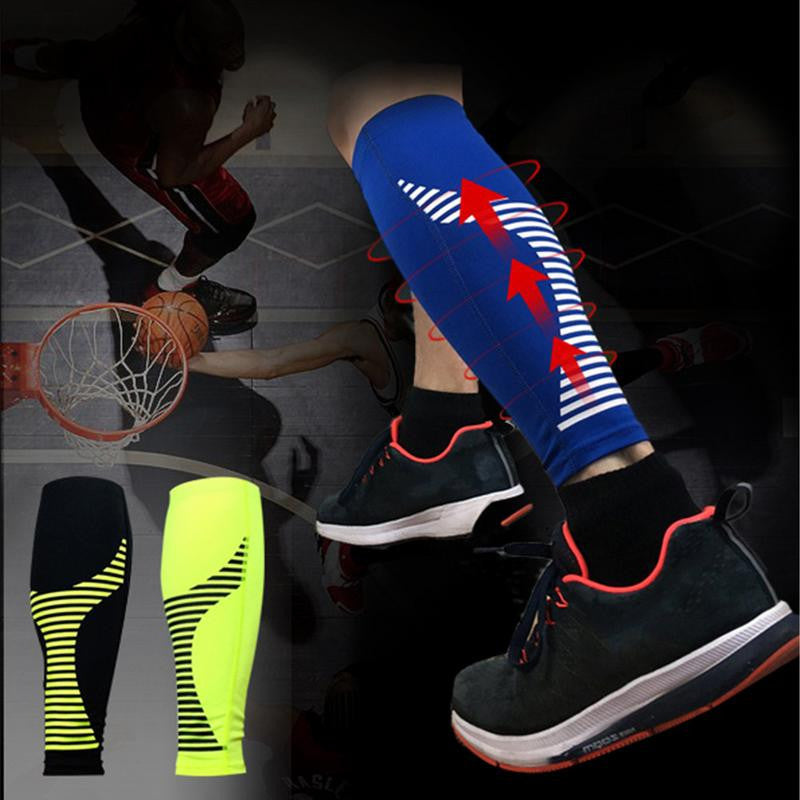 1 PC Basketball Football Running Knee Pads Adult Kneepads High Elasticity Warm Breathable Leg Brace Support Sleeve Socks Knee Protector Calf Support