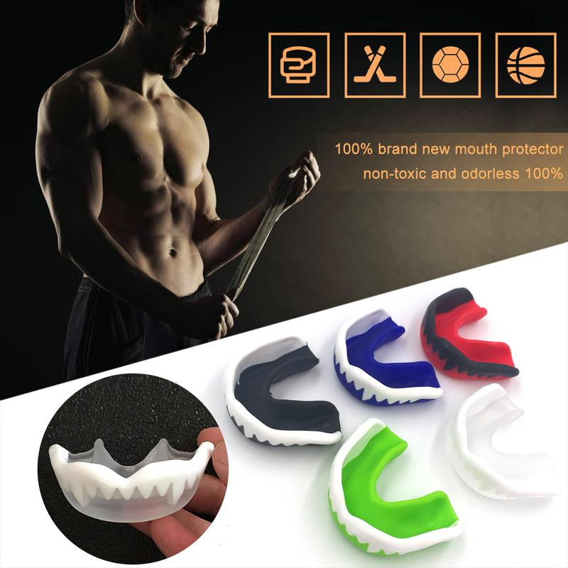 Mouth Protector Teeth Gum Shield Shield Muay Thai Boxing Rugby Fight Basketball Soccer Sport Teeth Guard Orthodontic Retainer