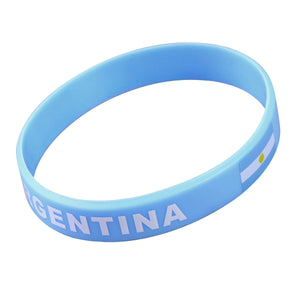 World Cup Country Silicone Wristband Fashion Sports Bracelet