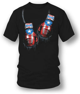 New Funny Brand Clothing Puerto Rico Boxer Shirt, Puerto Rico Pride - Wicked Metal