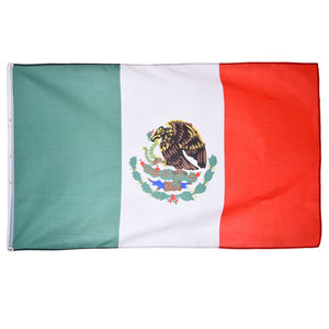 Mexico flag For  Football / Activity / Parade / Festival Celebration Home Decoration Flags and Banners Outdoor Indoor 150x90cm