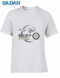 Free Shipping Creative Design Printing Cotton 1250gs Motorrad Days Colombia 2018 Motorrad Fans men Cool Tee shirt